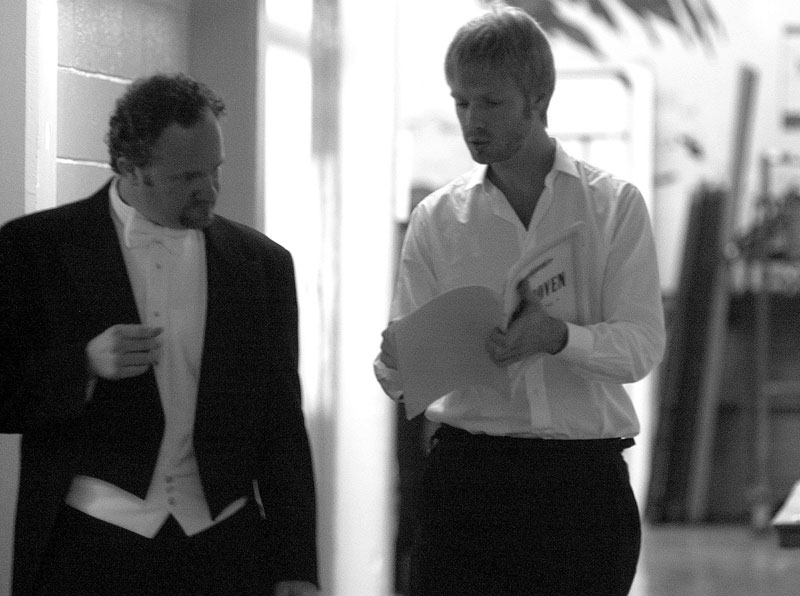 Jeffrey Grogan, with pianist Andrew von Oeyen, Reno Philharmonic